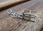 Sterling Silver Chair Pendant 3
