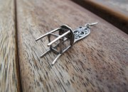 Sterling Silver Chair Pendant 4