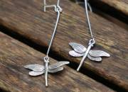 Sterling Silver Dragonfly Earrings 4