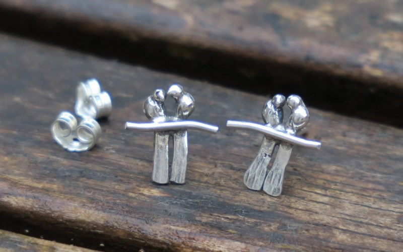 Bird Stud Earrings 1