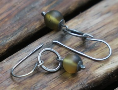 Baltic Amber Earrings 1
