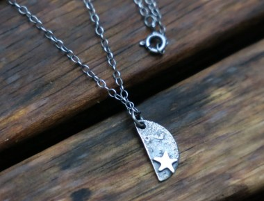 Sterling Silver Celestial Star Pendant Necklace 2