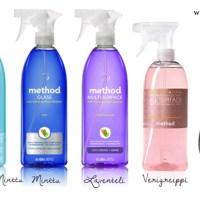 Method puhdistusaineet