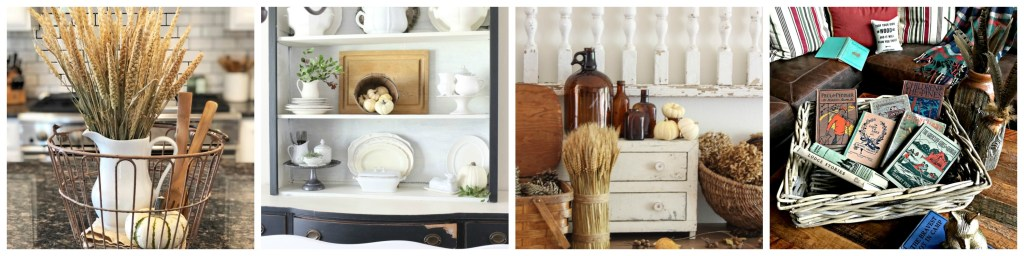 Bountiful Fall Baskets, Baskets, Home Tour