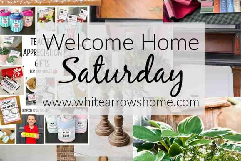 Welcome Home Saturday - Decor, Recipes and DIY Inspiration