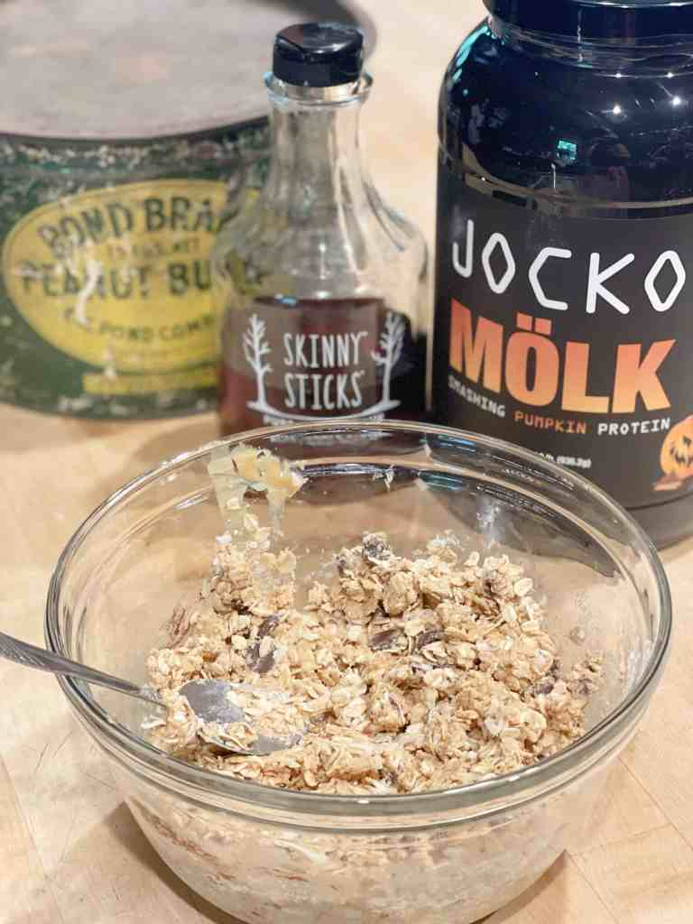 Peanut Butter Protein Balls with Jocko Molk