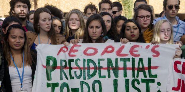 MOROCCO-US-ELECTION-COP22-DEMO