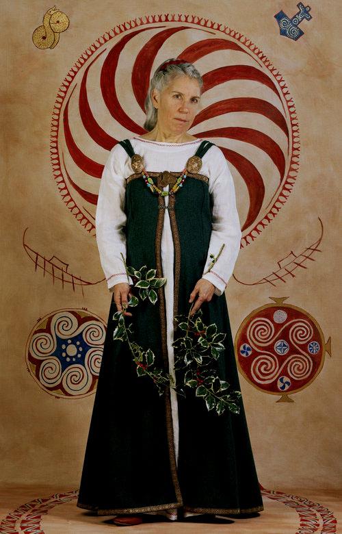 Viking noblewoman Ragnhilde Hrolfsdottir, 830-916