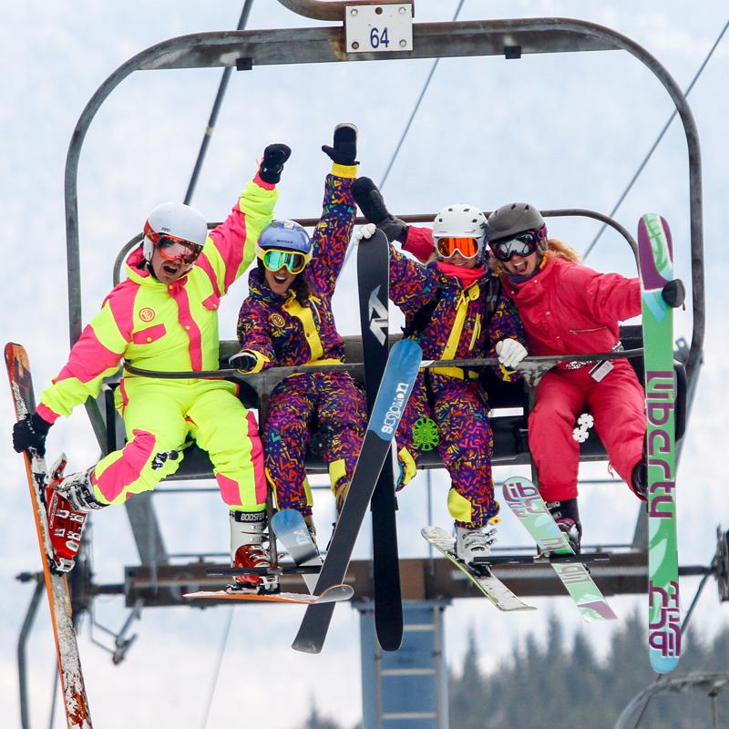 High Fives FAT Ski-A-Thon