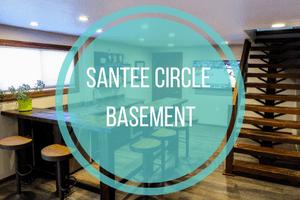 Santee Circle Basement