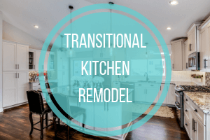 Transitional White Gallery Kitchen Remodel Cottage Grove