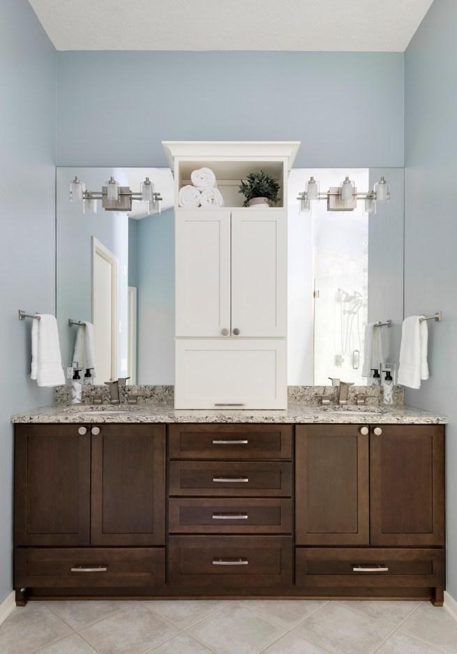 Before After Modernized Bathroom Remodel Apple Valley Mn White Birch Design