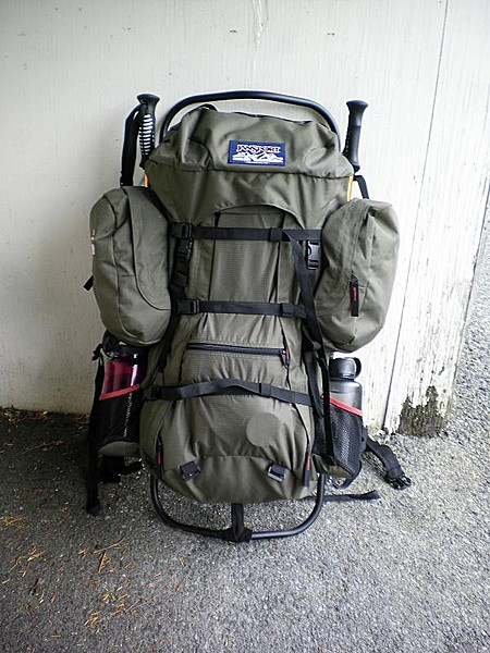 Jansport Carson 90 External Frame Backpack | Frameswalls.org