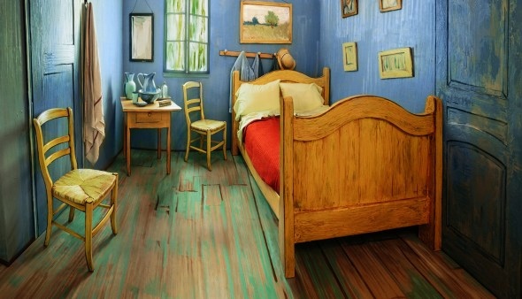 Van Goghs Bedroom Airbnb