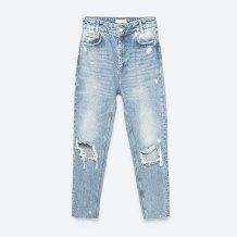 cropped mom jeans zara