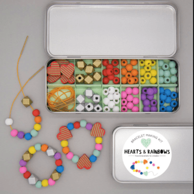 hearts-rainbowns-bracellet-making-kit