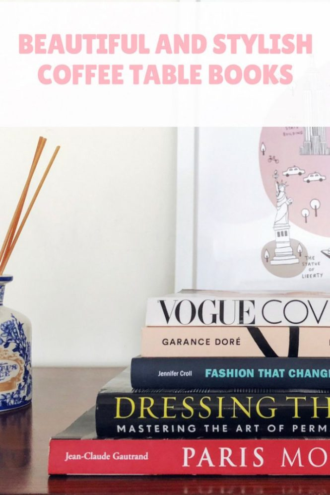 Beautiful and Stylish Coffee Table Books for your home