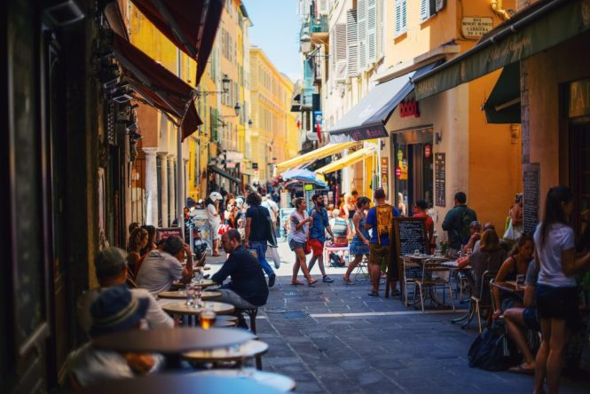 Nice France - Old Town
