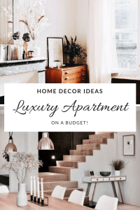 Home decor ideas_ Luxury apartment on a budget