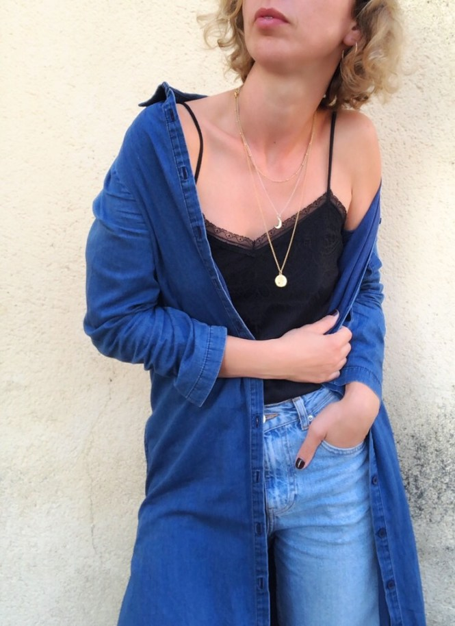 Layered necklaces and giveaway