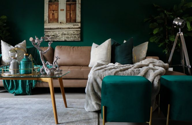 add a splash of colour - tips to redecorate on a budget