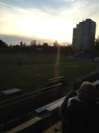 Sunset at UBC
