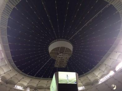 Open roof post-match