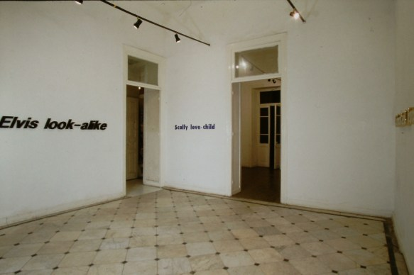 Derek Walker. Installation view.