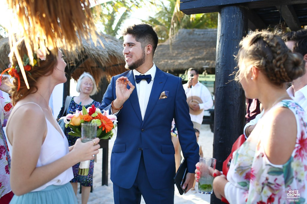 Destination Wedding, Riviera Maya, Debora Ducci, White Crown Photography, Playa del Carmen, Wedding at kSM, Xpu-Ha
