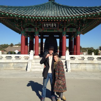 Korean Peace Bell- Angels Gate Park, San Pedro California