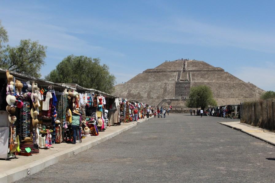 Pyramid of the sun- Teotihuacan