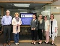 White Eagle presented a check to the El Dorado Family Life Center - SafeHouse.