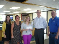 White Eagle presented generous donations to the United Ways of El Dorado on Thursday, May 4, 2017