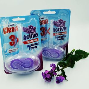 Туалетный блок At Home Clean Power Rings 40g Pure Lavender