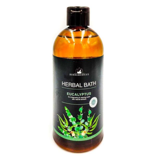 Пена для ванн Herbamedicus Herbal Bath 500мл Eucalyptus