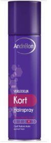 Лак для волос Andrelon 250мл Temptingly Short Extra Strong Hold 4