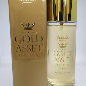 Туалетная вода мужская 100мл Ilvande Gold Asset