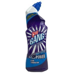 Очиститель для унитаза 750мл Cillit Bang Tough Stains