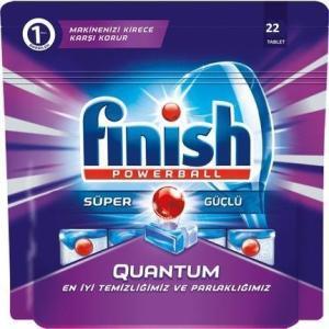 Средство для мытья посуды в капсулах Finish 22 шт Quantum Regular