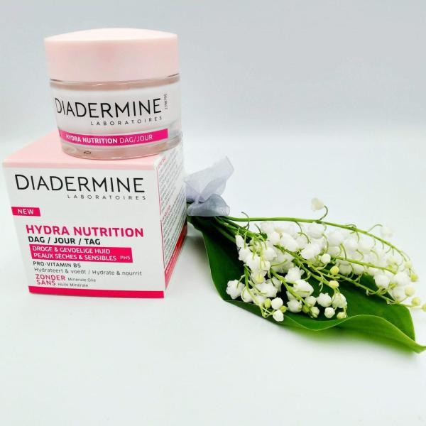 Крем для лица Diadermine 50 мл ночной Hydra Repair