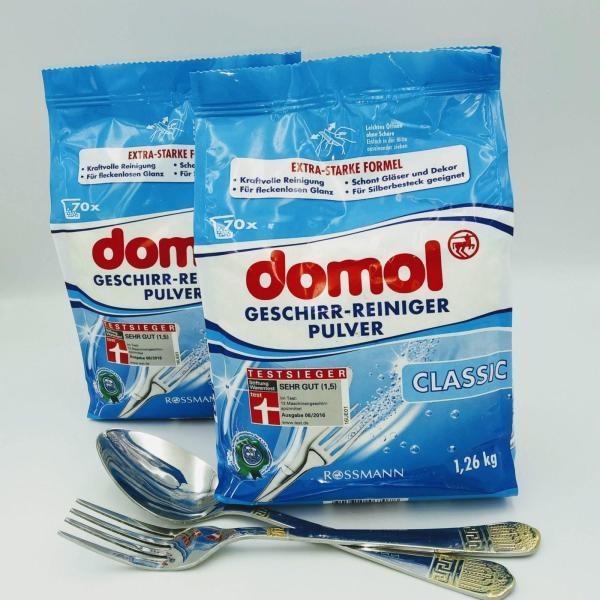 Порошок для посудомоечных машин Domol