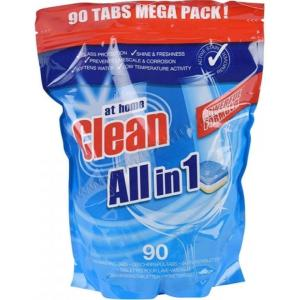 Таблетки для посудомоечной машины 90шт At Home Clean All-In-1