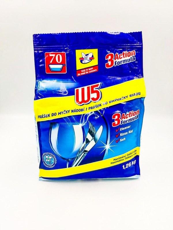 Порошок для посудомоечных машин W5 Powder 1,26 кг