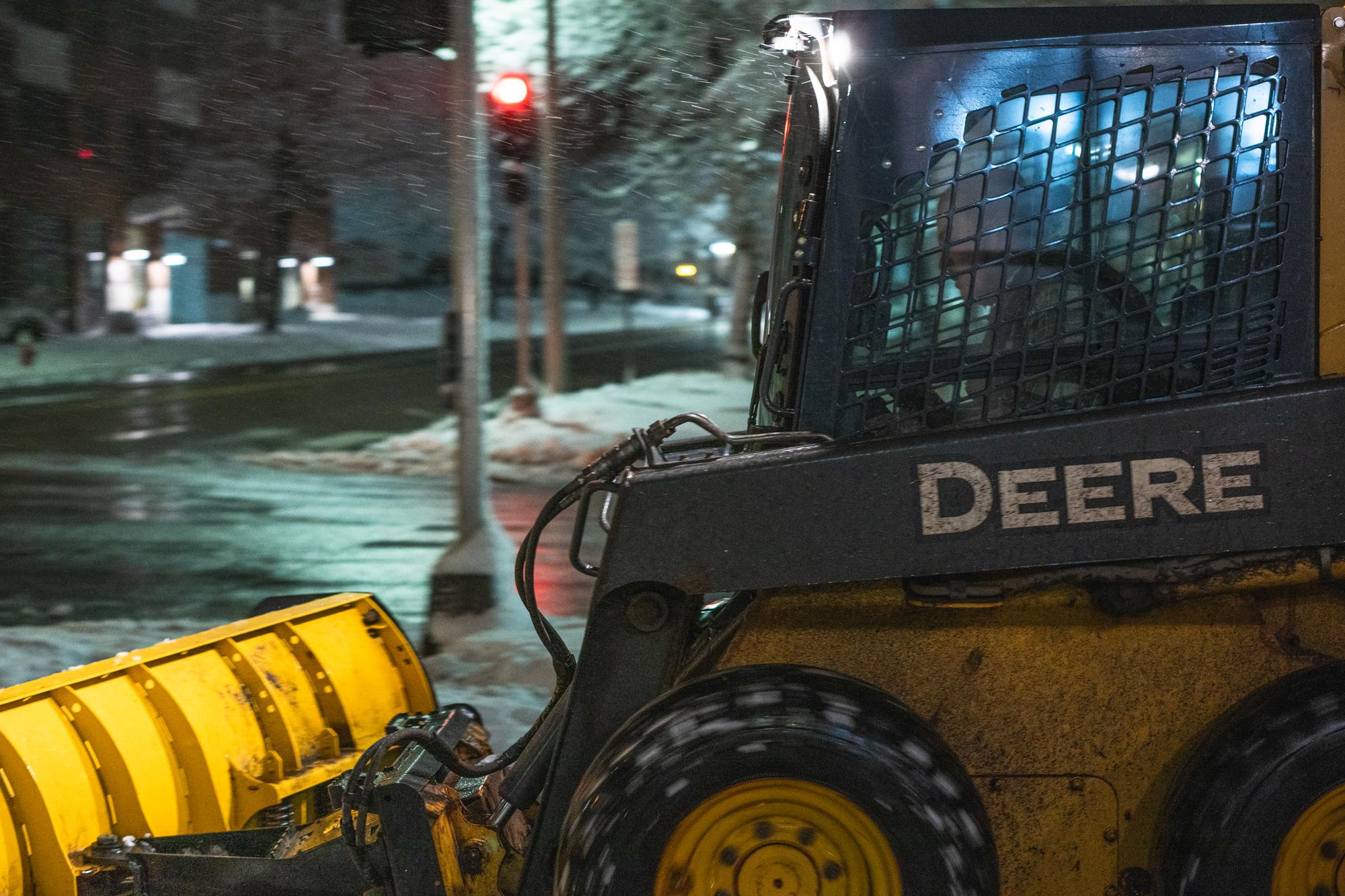 Ice removal in burlington
