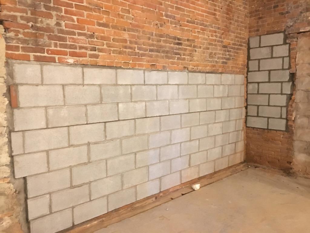 White Falcon brick work