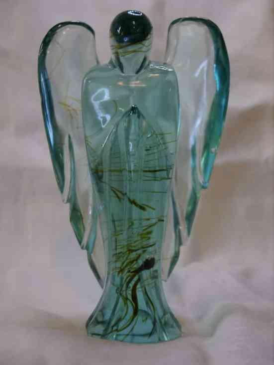 Green Obsidian Angel