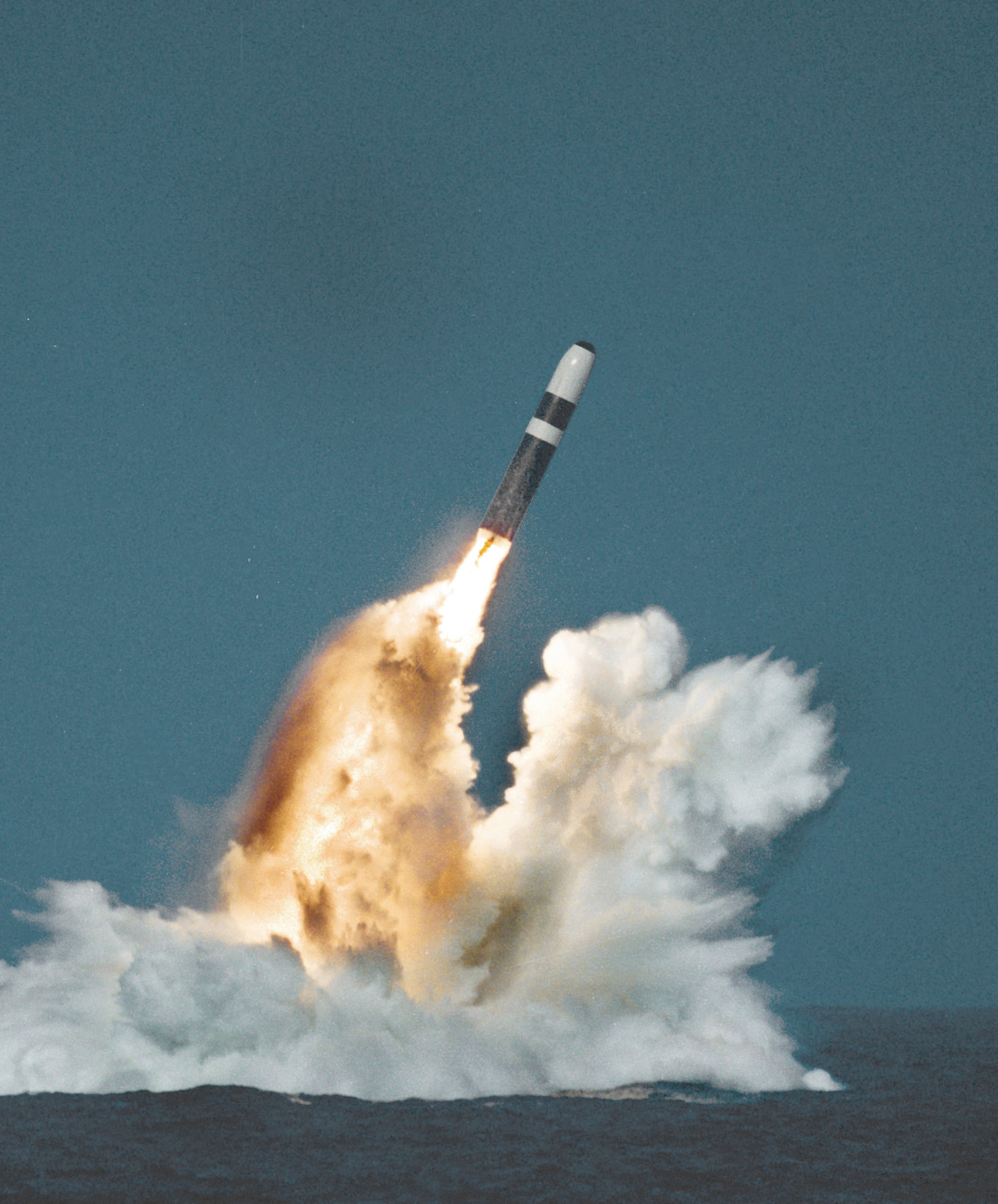 The Trident D5 SLBM, a proposed CPGS launch vehicle.