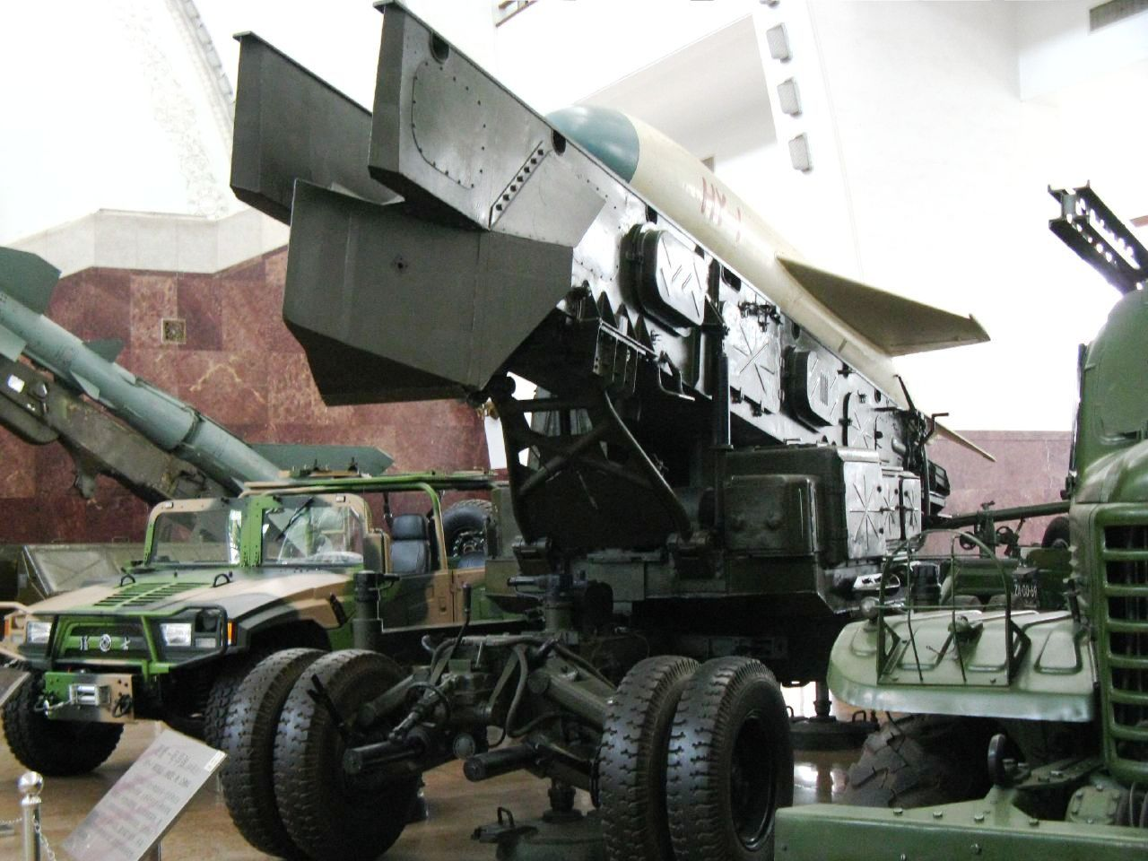 A ground-launch system for the obsolete HY-1 system. While the HY-1 itself is a very old design, upgraded versions of this missiles still serve with the PLA.
