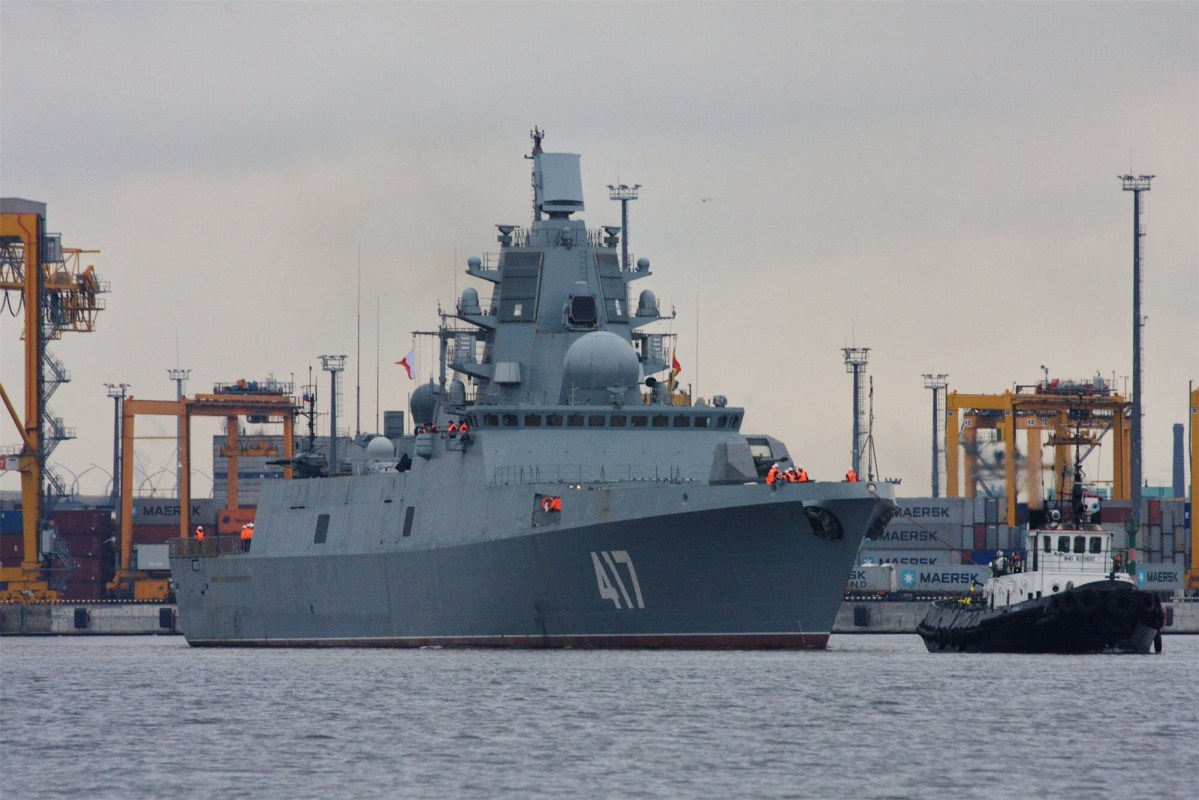 Gorshkov-class Frigate Production Challenging for Neglected Russian Shipbuilders