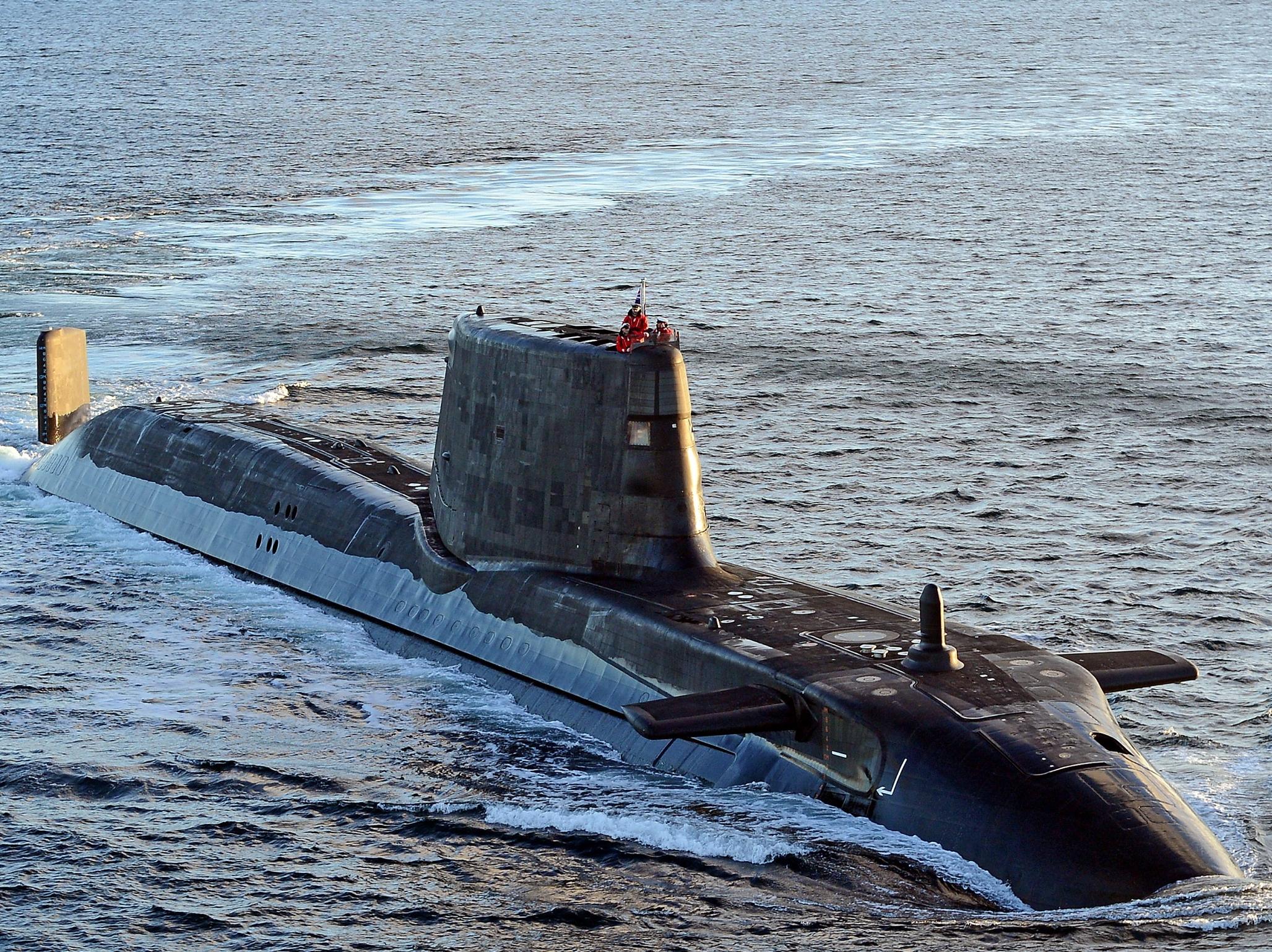Astute-class HMS Ambush